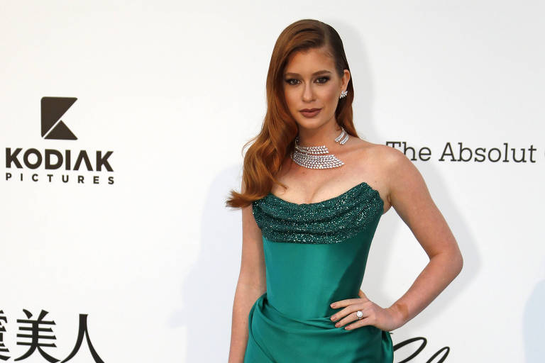 Marina Ruy Barbosa prestigia o Festival de Cannes
