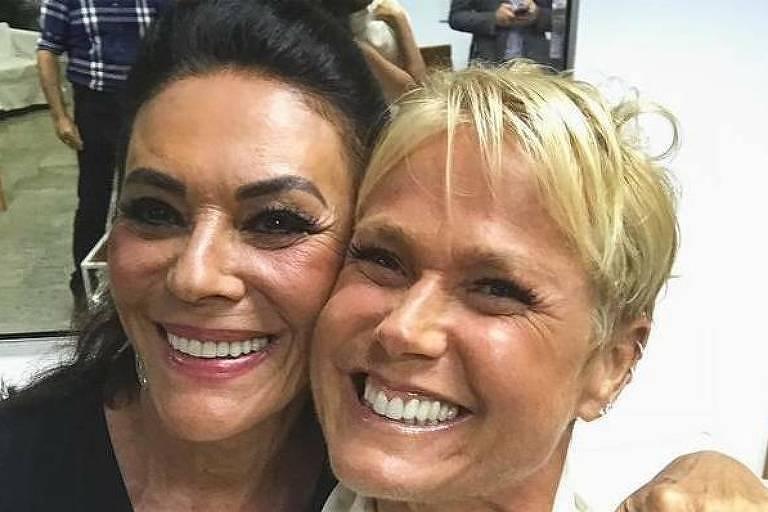 Beth Szafir e Xuxa, que já foram sogra e nora