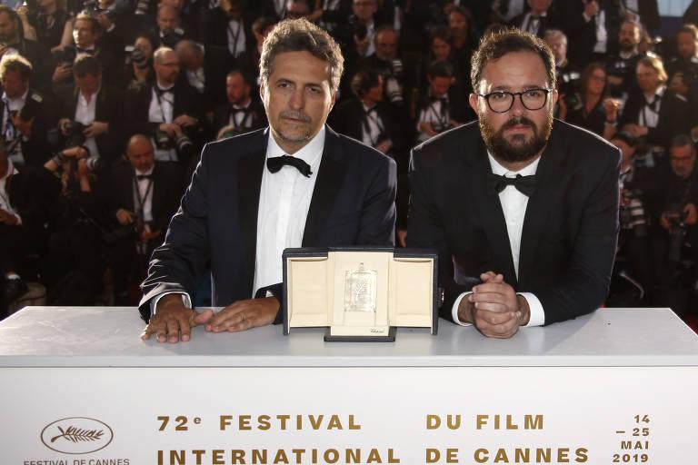 Prêmiação no Festival de Cannes