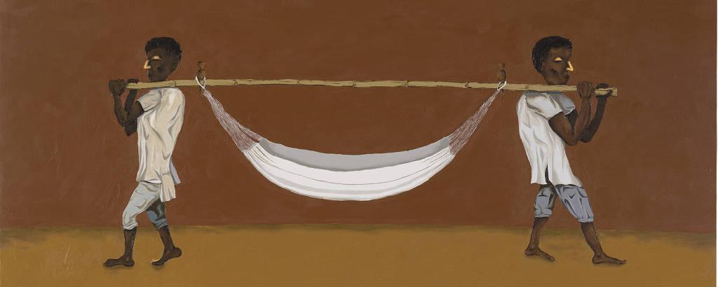 'A Rede', tela de Dalton Paula de 2008