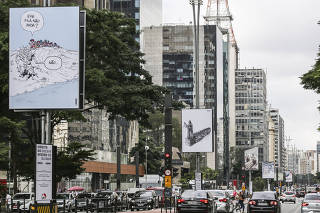 Exposição Maio na Paulista