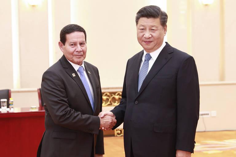Hamilton Mourão na China