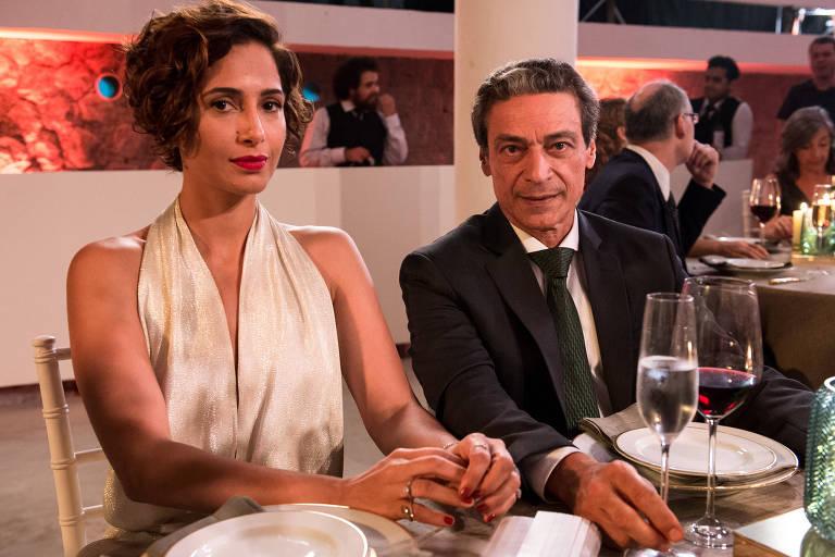 Aruanas, Série do GloboPlay, com Camila Pitanga e Luiz Carlos Vascocellos