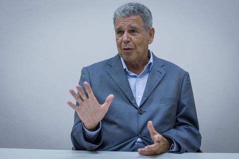 SÃO PAULO, SP, BRASIL, 30.03.2017 - Entrevista com o presidente da Sabesp (companhia paulista de saneamento), professor em hidrologia e engenheiro civil Jerson Kelman, na sede da companhia paulista de saneamento. (Foto: Eduardo Anizelli/Folhapress)
