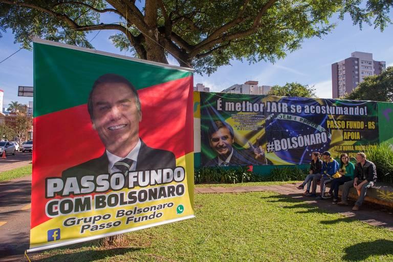 Manifestações a favor de Bolsonaro pelo país, em maio de 2019