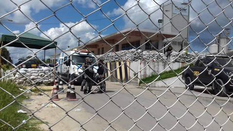 MANAUS , AM , 26.05.2019 , BRASIL , Uma rebelião no Complexo Penitenciário Anísio Jobim (Compaj), situado no km 8 da BR-174,  deixou mortos o motim foi confirmadp pela Secretaria de Administração Penitenciária (Seap). Credito  Crédito: Nilton Ricardo / Critica