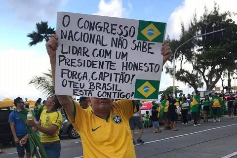 FHC, Lula, Ciro e OAB reagem contra ato anti-Congresso apoiado por Bolsonaro
