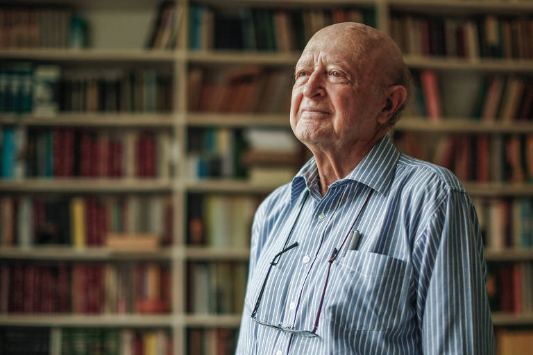 O historiador José Murilo de Carvalho