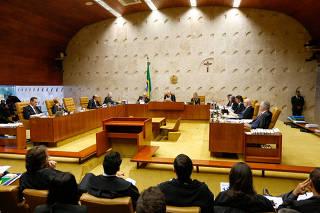 Sessão do STF sobre a liberação do porte de drogas