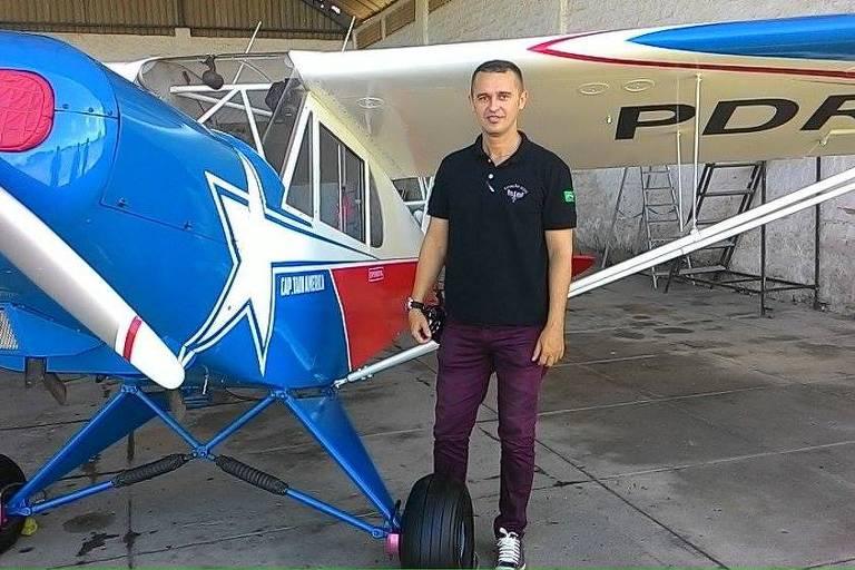 Piloto Linaldo Xavier está entre as vítimas de acidente aéreo em Sergipe