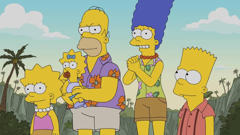 Cena da 30ª temporada de 'Os Simpsons'