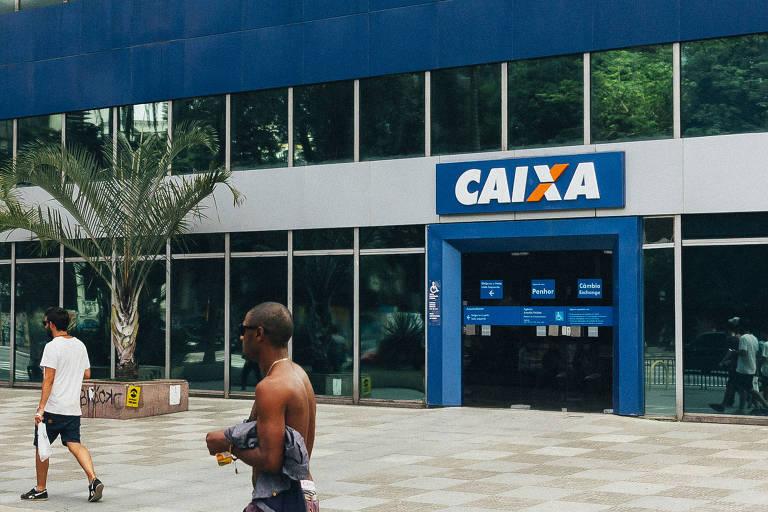 Agência da Caixa Econômica Federal na avenida Paulista
