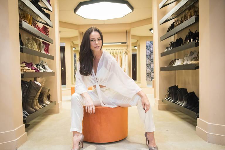 Paolla Oliveira na novela 'A Dona do Pedaço'