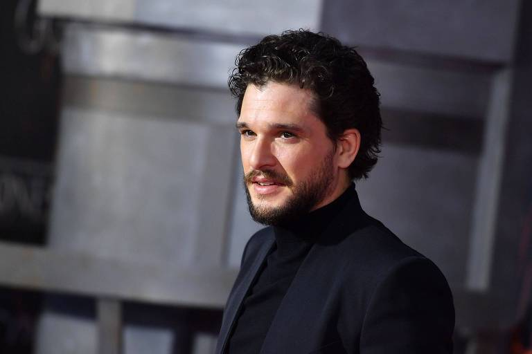 O ator Kit Harington