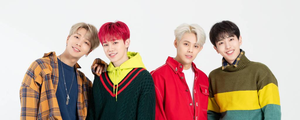 Grupo de K-Pop Masc