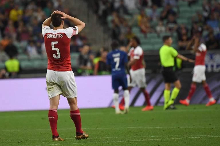 Chelsea vence a final da Liga Europa de 2019 em Baku