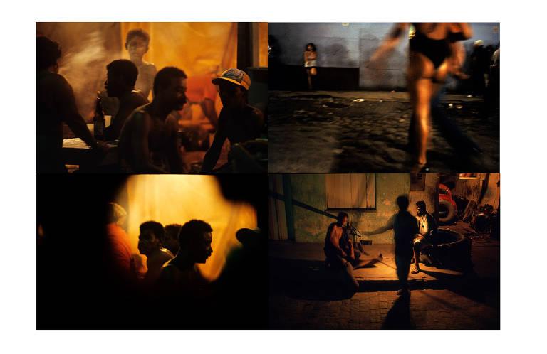 'Noturnas Sal e Mangue' (1979-1984-2012), fotografia de Miguel Rio Branco que integra 'Maldicidade', na Galeria Luisa Strina