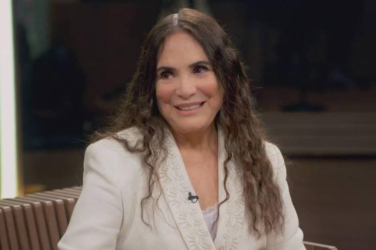 """Regina Duarte participa do programa """"Conversa com Bial"""""""