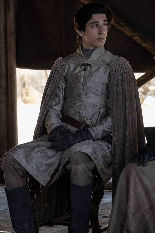 Cenas do ator brasileiro na série 'Game of Thrones'