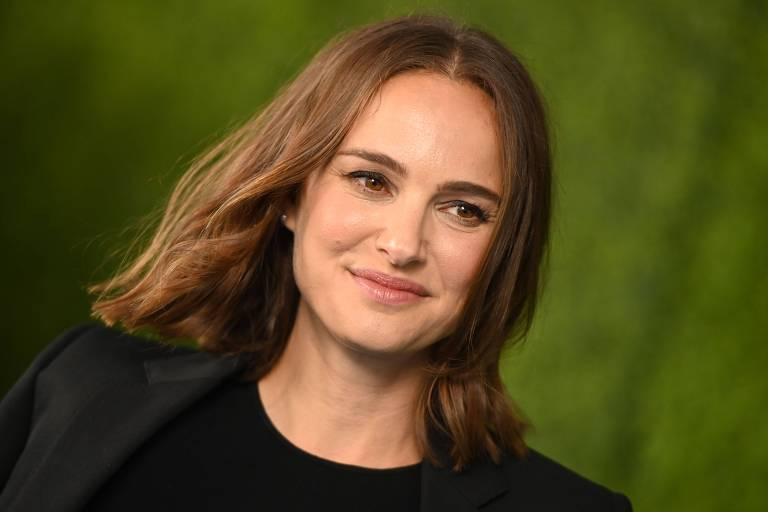 A atriz Natalie Portman