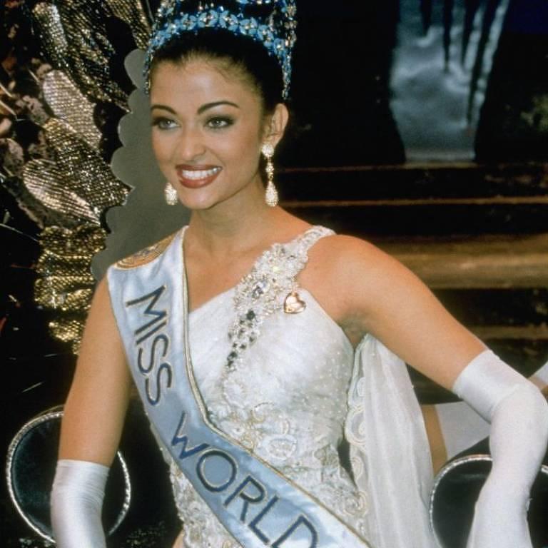 Aishwarya Rai, que foi Miss Mundo em 1994; Índia tem tradição de misses ganharem proeminência no mundo do entretenimento do país