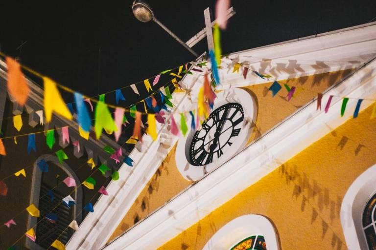 Festa junina na Paróquia de São Pedro Apóstolo, no Tremembé