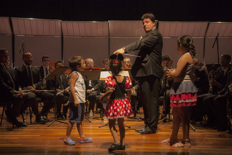 Apresentação do show Sinfonia para Crianças
