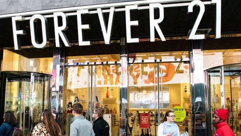 Forever 21 nasceu na Califórnia em 1984 com o nome 'Fashion 21'