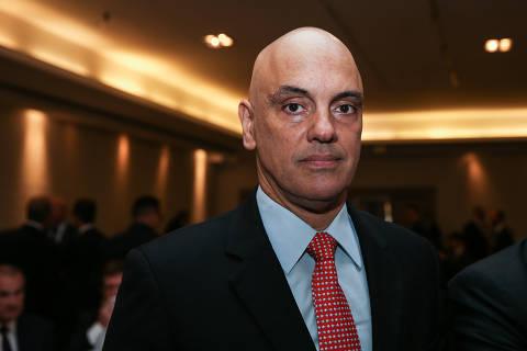 SAO PAULO/SP-BRASIL, 31/05/2019 - Reunião Almoço do IASP com o ministro do STF Alexandre de Moraes. Foto: Zanone Fraissat - Folhapress / MONICA BERGAMO)***EXCLUSIVO***