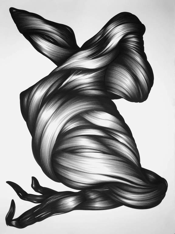 figura abstrata tridimensional