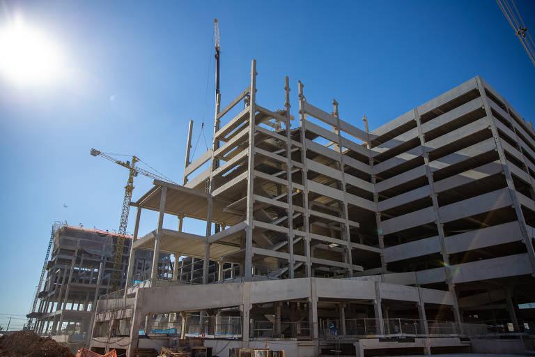 Obras do shopping Trimais, no Tucuruvi, com inauguração prevista para meados de 2020