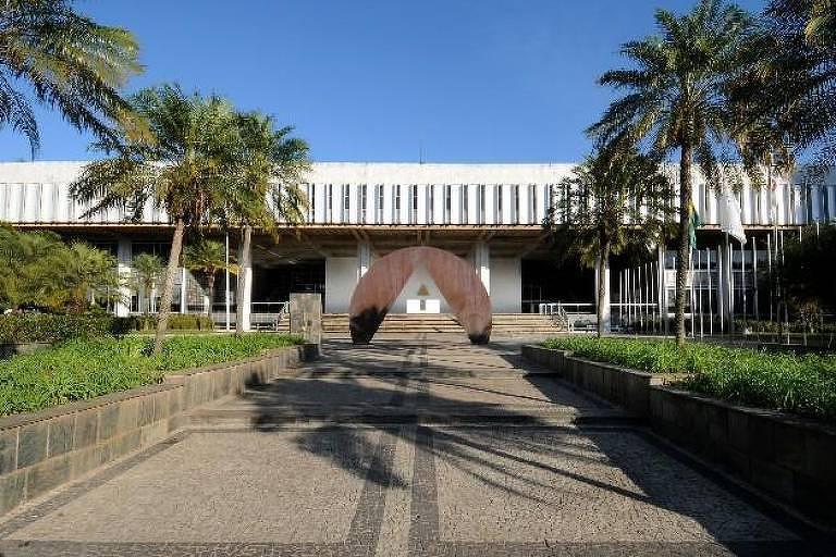 Palácio da Inconfidência, sede da Assembleia Legislativa de Minas Gerais, em Belo Horizonte