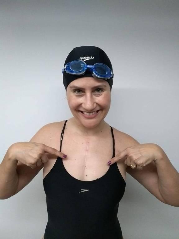 Mulher descobre doença, faz transplante e vira atleta