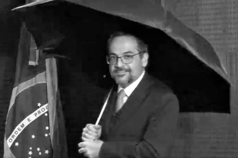 Chocolate e guarda-chuva