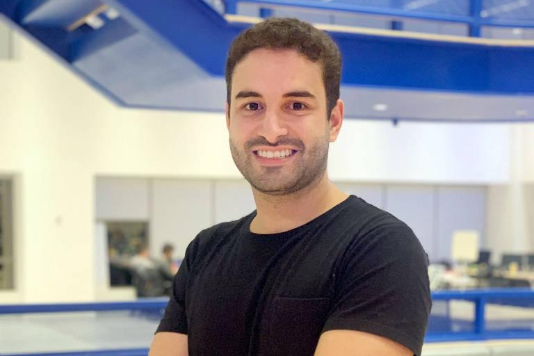 Gabriel Senra, sócio da startup Linte, de inteligência artificial para elaboração de documentos jurídicos