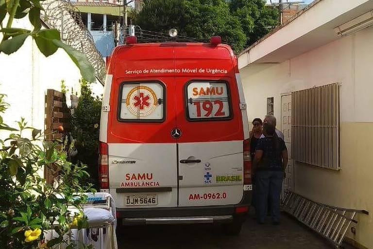 Ambulancia do Samu