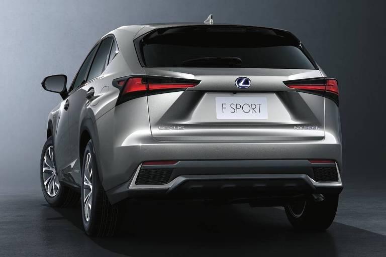 Novo Lexus nx300. O jipão da marca premium da Toyota usa um motor 2.5 a gasolina