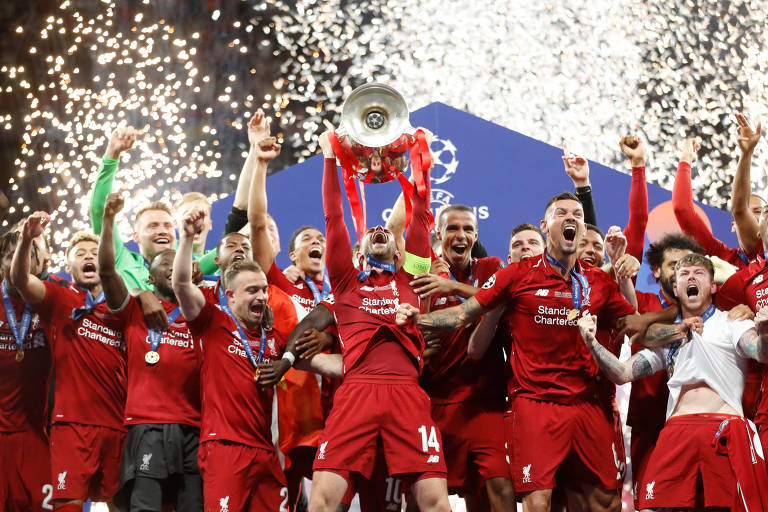 Principais vencedores da Champions League