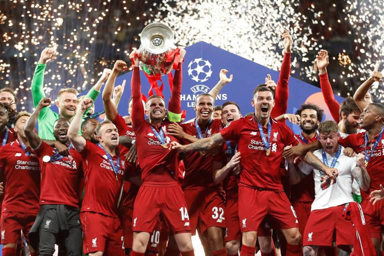 Liverpool foi o campeão da Champions League na temporada 2018/2019