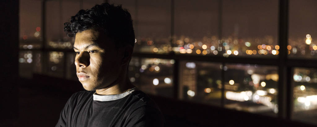 O ex-militar venezuelano Tulio Henrique López, 21, que desertou da Guarda Nacional Venezuelana e fugiu para o Brasil em abril de 2018