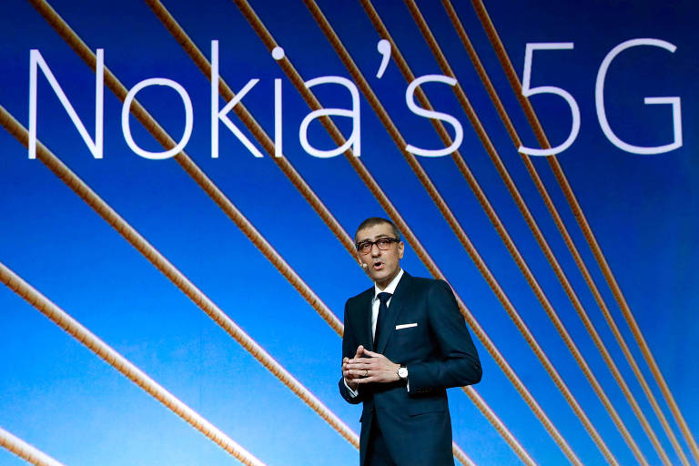Rajeev Suri, presidente-executivo da Nokia, que aposta também no mercado chinês