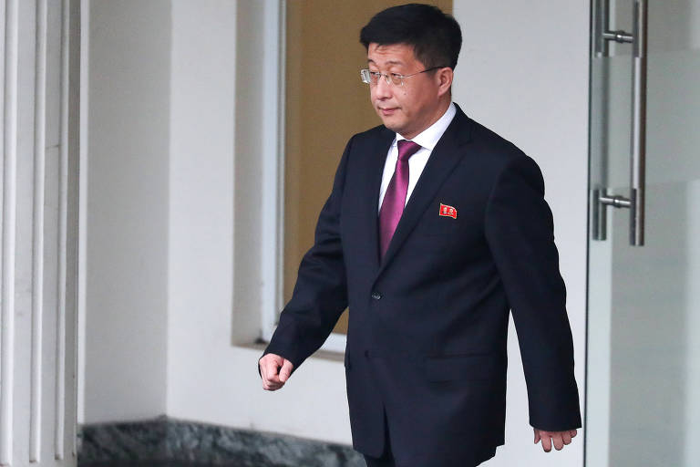 O diplomata norte-coreano Kim Hyok-chol
