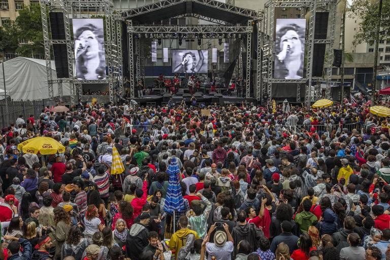 Festival Lula Livre, em São Paulo