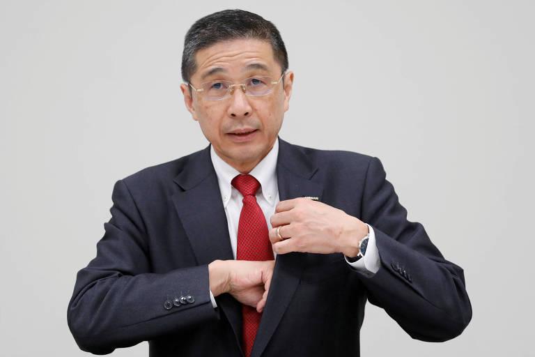 Presidente-executivo da Nissan, Hiroto Saikawa