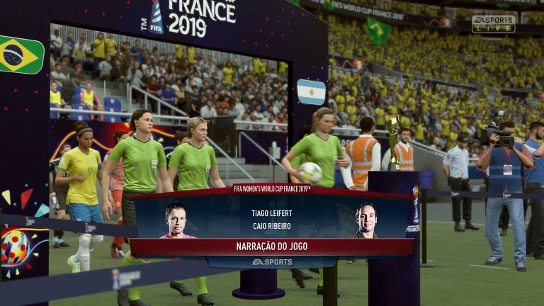 Copa do Mundo feminina no Fifa 19