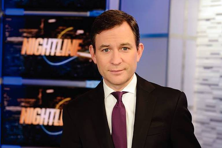 O escritor Dan Harris, que também é coâncora do Nightline, da rede americana ABC News