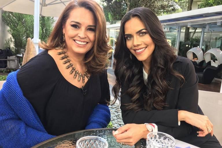 Daniela Albuquerque e Suzy Rego na RedeTV!
