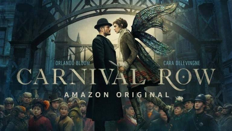 """""""Carnival Row"""", série da Amazon com Orlando Bloom e Cara Delevingne"""