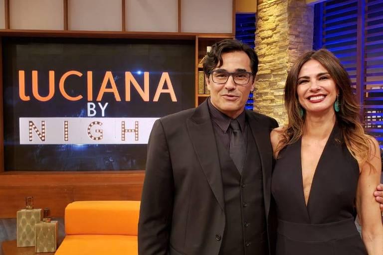 Luciano Szafir é entrevistado por Luciana Gimenez