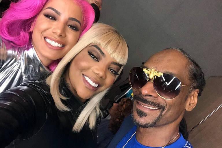 Anitta, Ludmilla e Snoop Dogg